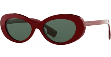 Sunglasses - Burberry - BE4278 - 340371 BORDEAUX // GREEN