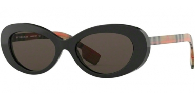 Sunglasses - Burberry - BE4278 - 3757/3 BLACK // BROWN