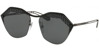 Sunglasses - Bvlgari - BV6109 - 128/87 MATTE BLACK // GREY