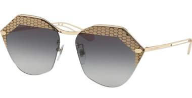 Sunglasses - Bvlgari - BV6109 - 278/8G PALE GOLD // GREY GRADIENT