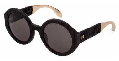 Gafas de Sol - Carolina Herrera New York - SHN601  - 0703  MATTE BLACK // BROWN