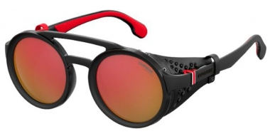 Sunglasses - Carrera - CARRERA 5046/S - BLX (UZ) BLACK RUTHENIUM CRYSTAL RED // RED MIRROR