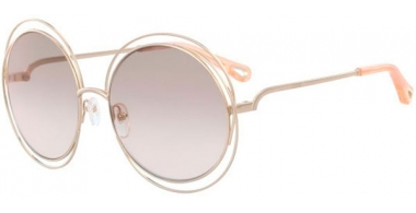 Sunglasses - Chloé - CE114SD CARLINA - 724 LIGHT GOLD // PEACH GRADIENT