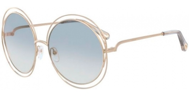 Sunglasses - Chloé - CE114SD CARLINA - 734 LIGHT GOLD // LIGHT GREY GRADIENT