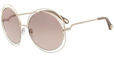 Sunglasses - Chloé - CE114SD CARLINA - 769 GOLD // BROWN GRADIENT FLASH