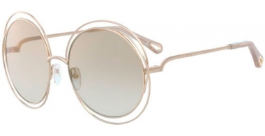 Sunglasses - Chloé - CE114SD CARLINA - 776 GOLD // OPALINE BEIGE GRADIENT