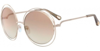 Sunglasses - Chloé - CE114SD CARLINA - 777 GOLD // MUD GRADIENT