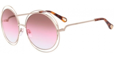 Sunglasses - Chloé - CE114SD CARLINA - 813 GOLD // BROWN ROSE SAND GRADIENT