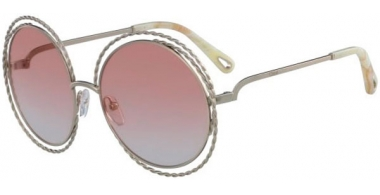 Sunglasses - Chloé - CE114ST CARLINA - 724 GOLD // PEACH GRADIENT