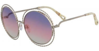 Sunglasses - Chloé - CE114ST CARLINA - 779 GOLD // RAINBOW