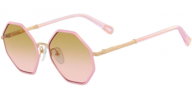 Frames Junior - Chloé Kids - CE3102S PALMA - 822 GOLD LILAC // LIGHT BROWN GRADIENT PINK