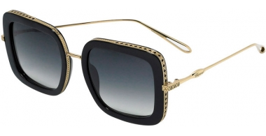 Sunglasses - Chopard - SCH261M - 0300  SHINY ROSE GOLD BLACK // SMOKE GRADIENT ANTIRREFLECTION