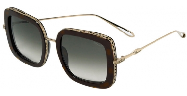 Sunglasses - Chopard - SCH261M - 08FE  SHINY GOLD HAVANA // GREEN BROWN GRADIENT ANTIRREFLECTION