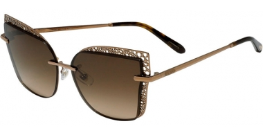 Sunglasses - Chopard - SCHC84M - 08FC  SHINY COPPER GOLD // BROWN GRADIENT ANTIRREFLECTION