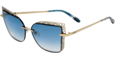 Sunglasses - Chopard - SCHC84M - 08FE  SHINY GOLD // BLUE GRADIENT ANTIRREFLECTION