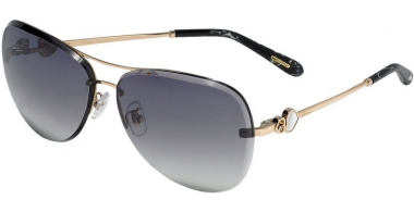 Sunglasses - Chopard - SCHC88S - 0300  SHINY ROSE GOLD // SMOKE GRADIENT ANTIRREFLECTION