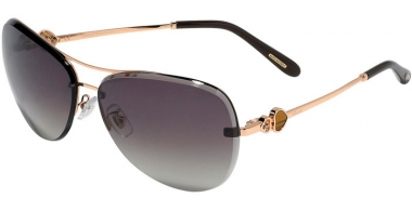 Sunglasses - Chopard - SCHC88S - 08FC  SHINY COPPER GOLD // BROWN GRADIENT ANTIRREFLECTION