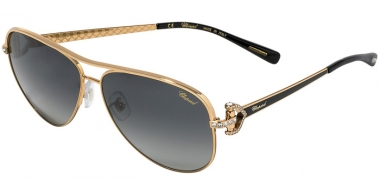 Sunglasses - Chopard - SCHC17S - 301P ROSE GOLD BLACK // GREY GRADIENT POLARIZED ANTIREFLECTION