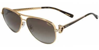 Sunglasses - Chopard - SCHC17S - 316P SHINY ROSE GOLD DARK BROWN // BROWN GRADIENT POLARIZED ANTIREFLECTION