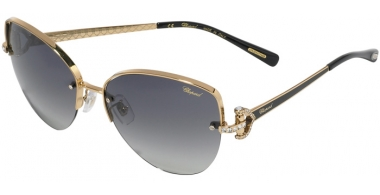 Sunglasses - Chopard - SCHC18S - 0301 SHINY ROSE GOLD BLACK // GREY GRADIENT ANTIREFLECTION