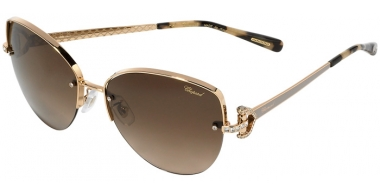 Sunglasses - Chopard - SCHC18S - 0358 SHINY ROSE GOLD GREY // BROWN GRADIENT ANTIREFLECTION
