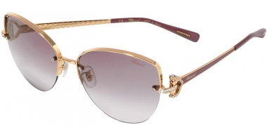 Sunglasses - Chopard - SCHC18S - 08MZ SHINY COPPER GOLD BURGUNDY // VIOLET GRADIENT ANTIREFLECTION