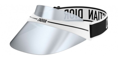 Sunglasses - Dior - DIORCLUB1 - ECG (00) WHITE AND BLACK // SILVER MIRROR