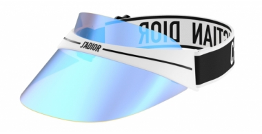 Sunglasses - Dior - DIORCLUB1 - G0Y (07) WHITE AND BLACK // BLUE MIRROR