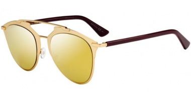 Sunglasses - Dior - DIORREFLECTED - YC2 (K1) GOLD PLUM // BROWN GOLD MIRROR