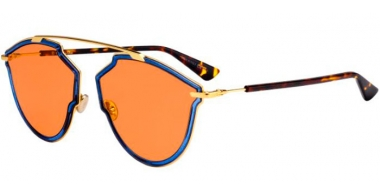 Sunglasses - Dior - DIORSOREALRISE - KY2 (W7)  BLUE GOLD // ORANGE