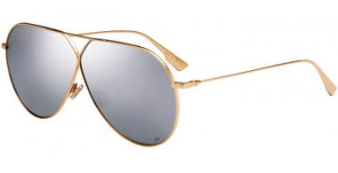 Gafas de Sol - Dior - DIORSTELLAIRE3 - J5G (DC)  GOLD // EXTRA WHITE MULTILAYER