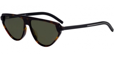 Sunglasses - Dior Homme - BLACKTIE247S - 086 (O7)  DARK HAVANA // GREEN LIGHT GREEN ANTIREFLECTION