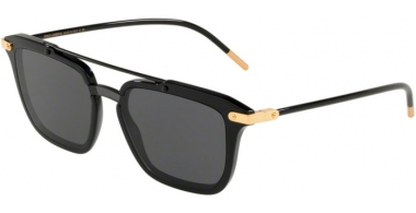 Sunglasses - Dolce & Gabbana - DG4327 - 501/87 BLACK // GREY