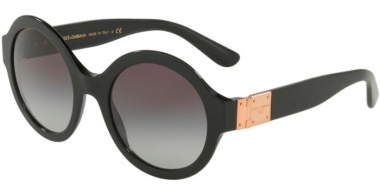 Sunglasses - Dolce & Gabbana - DG4331 - 501/8G BLACK // GREY GRADIENT