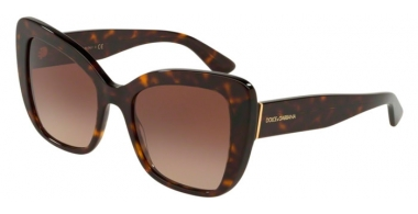 Sunglasses - Dolce & Gabbana - DG4348 - 502/13 HAVANA // BROWN GRADIENT