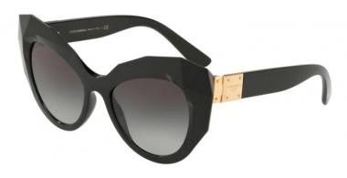 Sunglasses - Dolce & Gabbana - DG6122 - 501/8G BLACK // GREY GRADIENT