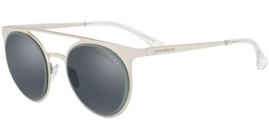 Sunglasses - Emporio Armani - EA2068 - 30156G SILVER // GREY MIRROR  BLACK