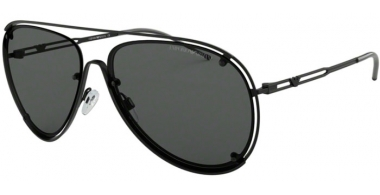 Sunglasses - Emporio Armani - EA2073 - 300187 MATTE BLACK // GREY