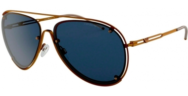 Sunglasses - Emporio Armani - EA2073 - 325580 MATTE COPPER // BLUE