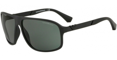 Sunglasses - Emporio Armani - EA4029 - 504271 MATTE BLACK // GREEN