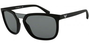 Sunglasses - Emporio Armani - EA4123 - 500187 BLACK // GREY