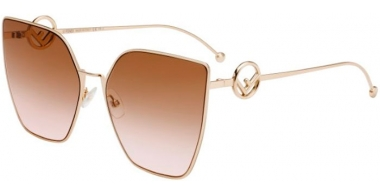 Sunglasses - Fendi - FF 0323/S - S45 (M2)  PINK GOLD // BROWN PINK GRADIENT