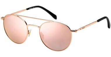 Sunglasses - Fossil - FOS 3069/S - AU2 (0J)  RED GOLD // GREY ROSE GOLD MIRROR