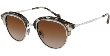 Sunglasses - Giorgio Armani - AR8117 - 564813 BROWN HAVANA MATTE CREAM // BROWN GRADIENT