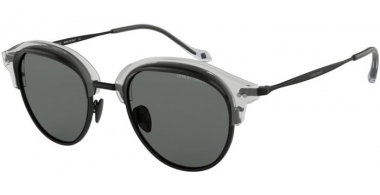 Sunglasses - Giorgio Armani - AR8117 - 571887 CRYSTAL MATTE BLACK // GREY