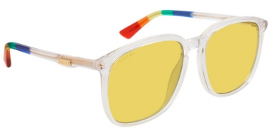 Gafas de Sol - Gucci - GG0265S - 004 CRYSTAL // YELLOW