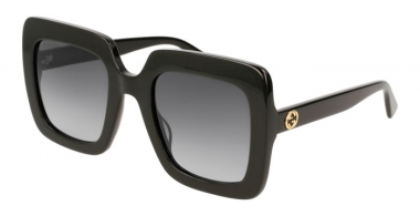 Sunglasses - Gucci - GG0328S - 001 BLACK // GREY GRADIENT