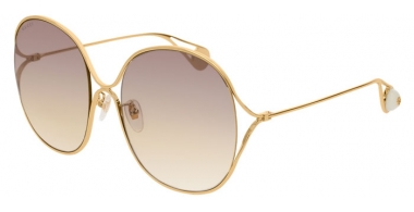 Sunglasses - Gucci - GG0362S - 003 GOLD // VIOLET GRADIENT