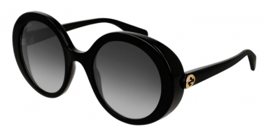 Sunglasses - Gucci - GG0367S - 001 BLACK // GREY GRADIENT