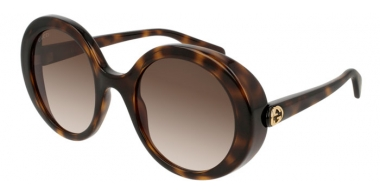 Sunglasses - Gucci - GG0367S - 002 HAVANA // BROWN GRADIENT